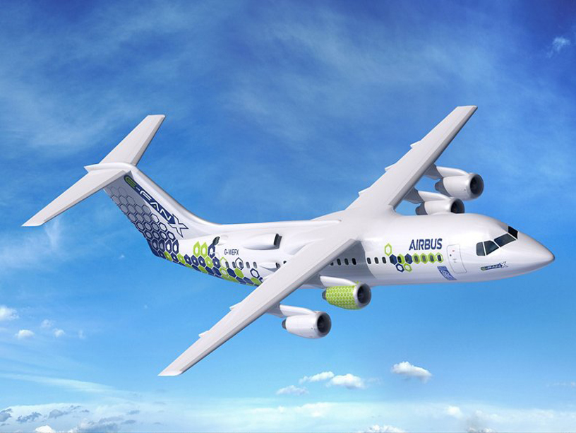 The E-Fan X demonstrator, Airbus's proposed electric hybrid