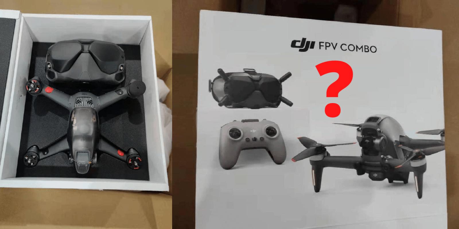 Il drone DJI FPV non sarà un drone da corsa.  O sarà …?