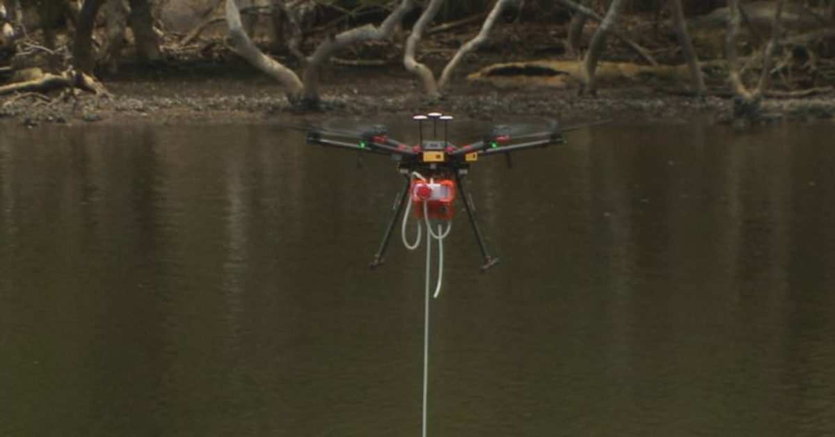 Sydney is using a water-testing drone to keep workers safe - DroneDJ