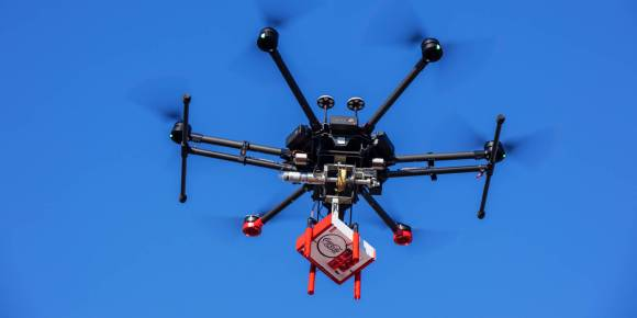 Coke and Walmart partner to deliver new Coca-Cola with Coffee by drone