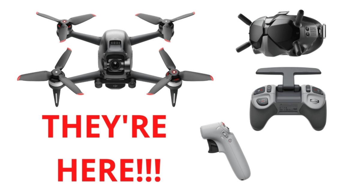Finally: DJI's new FPV drone combo is here - DroneDJ