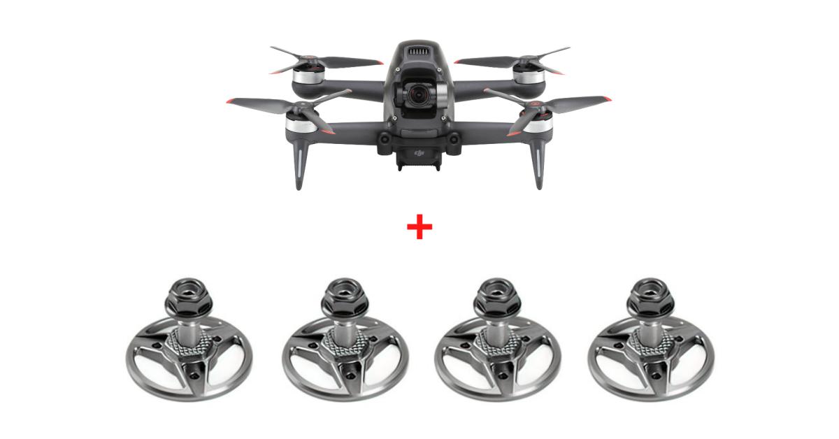 Aikon propeller adaptors released for DJI FPV drone - DroneDJ
