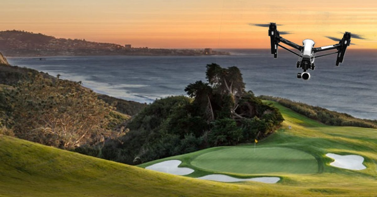 How drones will capture the action of the world's top golfers at the US Open