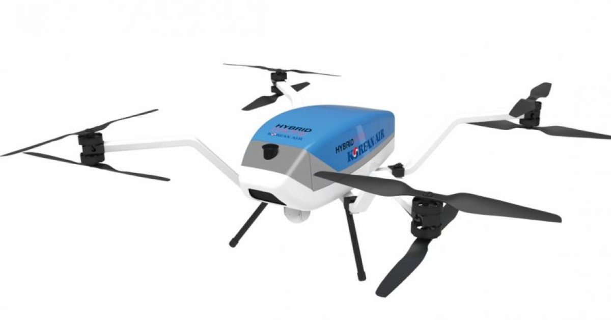 Korean Air supplying new hybrid drones to fire and rescue responders - DroneDJ