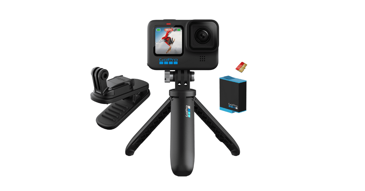 Launch offer: Save $210 on GoPro Hero 10 Black accessories bundle