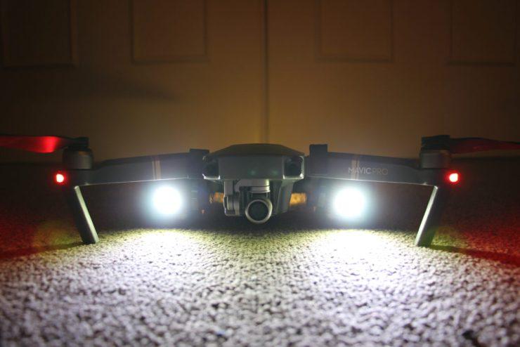 lume cube mavic pro drone review