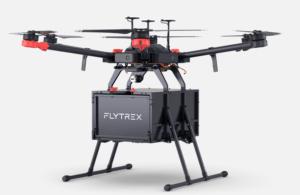 Entrega del dron Flytrex