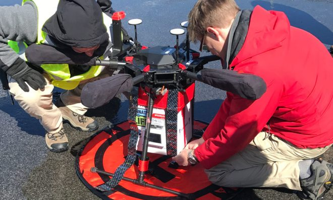 kidney transplant delivery maryland drone