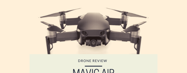 This is a photo from the drone photography bible website. It is the featured iamge from the article 'Drone Review, Mavic air'. The photo is over a mavic air.