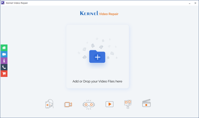 Kernel video repair tool to repair corrupt video files - drone photography bible article