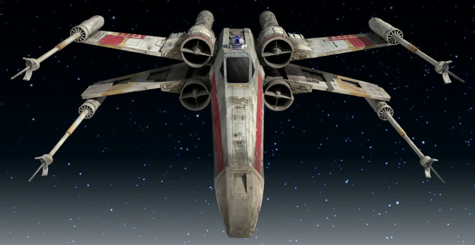 NEWS: This Guy Dronified An X-Wing Fighter