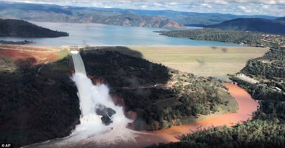 FAA Issues Drone Flight Ban At Oroville Dam