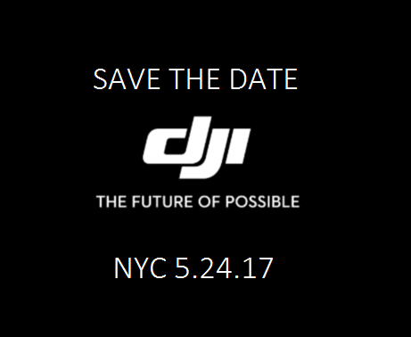DJI Media Event Scheduled For May 24th.  Will DJI release another drone?