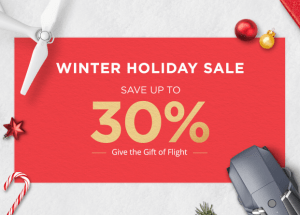 DEAL: DJI Winter Holiday Sale: Up To 30% Off Your Favorite DJI Drones & Accessories