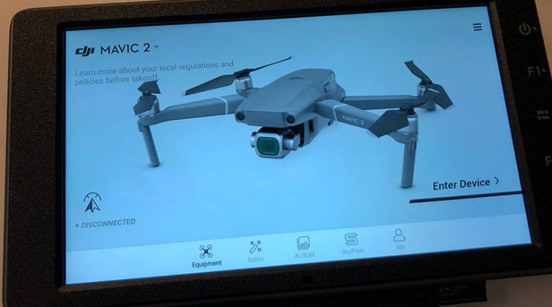 UPDATE: DJI CrystalSky Now Compatible With DJI Mavic 2