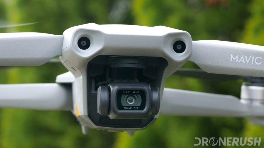 DJI Mavic Air 2 flying nose camera