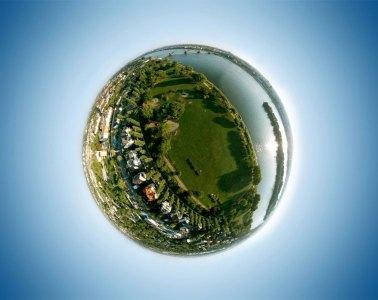 DJI Spark Sphere Modus - Meine kleine Welt