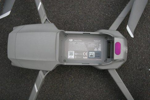 DJI Mavic 2 Pro mit entnommener Batterie