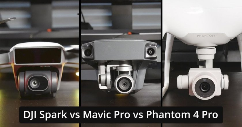 DJI Mavic Pro VS DJI Spark