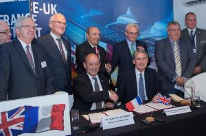 UK and French ministers and officials sign agreement on future drone developments