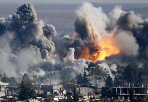 When is an air strike and air strike?