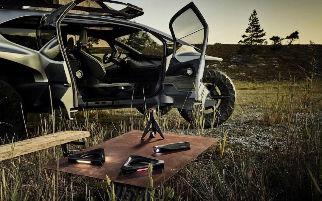 Audi AI:Trail: primer vehículo con 5 drones de equipamiento.