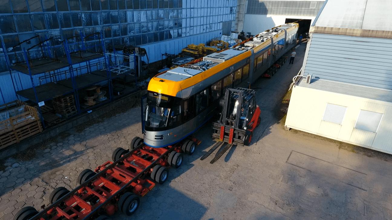 Transport tramwaju Solaris