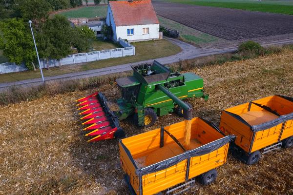 Inspekcja rolna z drona