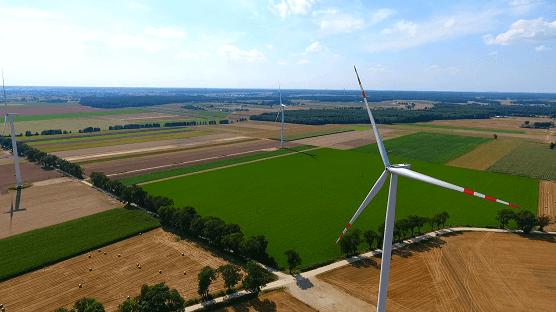 farma wiatrowa w Opalenicy