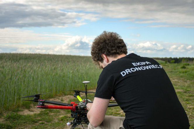 Zdjęcia z drona dji s900