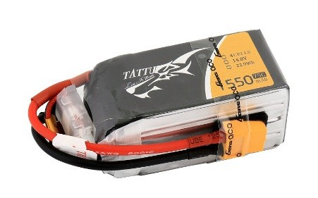 Gens Ace & TATTU: 1550mAh 14.8V 75C TATTU Gens Ace