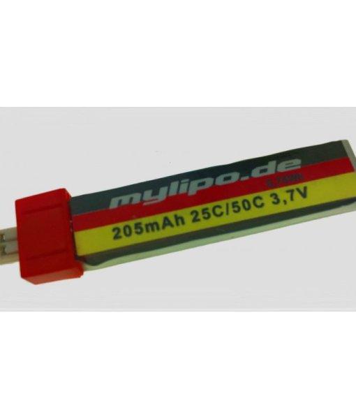 Lipo-205mAh-37V-25C-50C-V2-special-Stecker-PWconnector-TinyWhoop