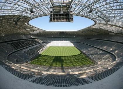 Allianz Arena v Munchnu (vir: livesoccertv)