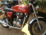 Royal Enfield forces inside Continental GT at Rs 2.05 lakh about road