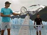 Nadal, Djoko, tennis and glaciers!