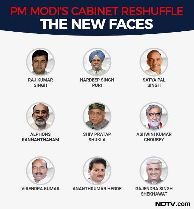 Here Are The 9 New Ministers In Pm Modi S Government