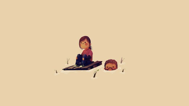 the last of us ellie e joel