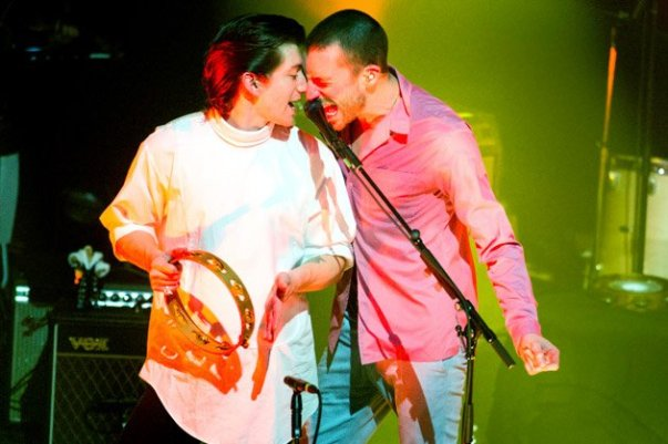 the last shadow puppets dropando ideias coachella 2016 2
