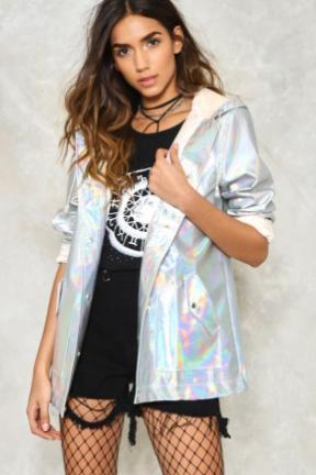 holografico casaco nastygal dropando ideias leticinios wishlist