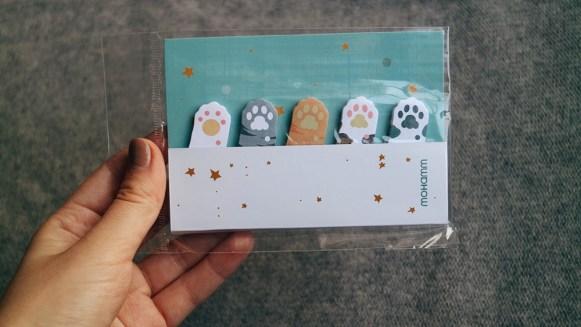 Coisas fofas de papelaria japonesa Fukubukuro da Blippo dropando ideias leticinios review 1