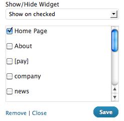 Display Widgets