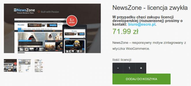 escro theme newszone