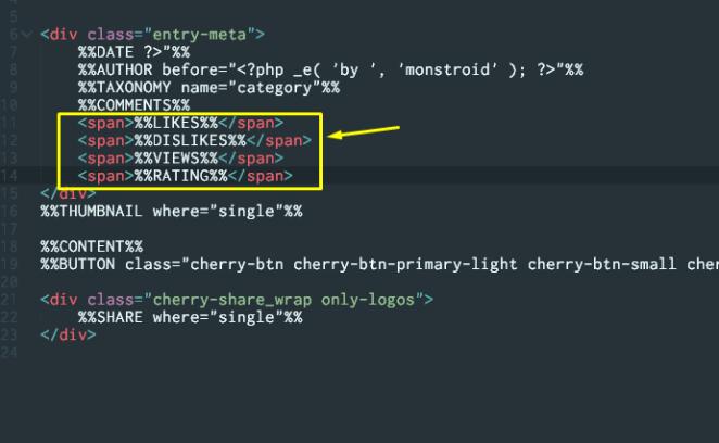 Monstroid Cherry Rank tmpl code