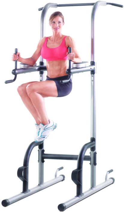 Gold's Gym XR 10.9 Power Tower leg raises