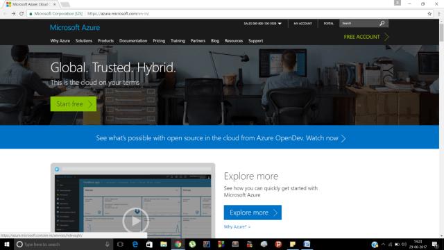 Microsoft Azure Tool
