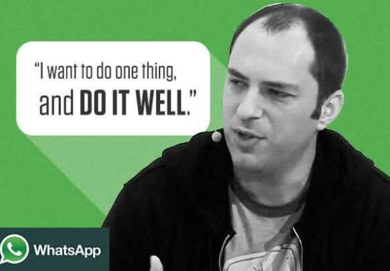 Jan Koum Whastapp CEO Quote