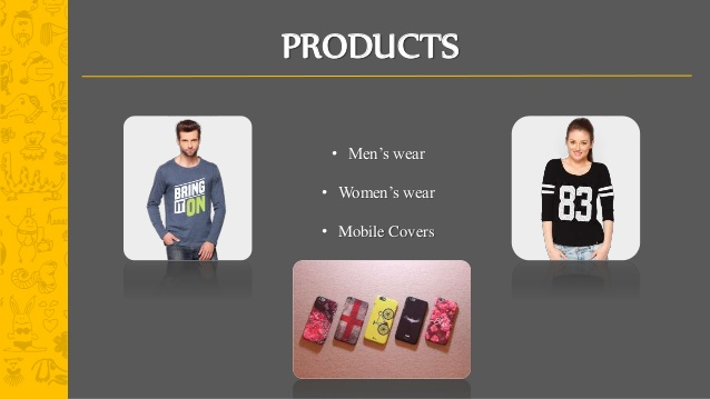 Product range by bewakoof.com
