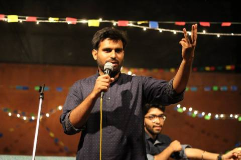 Arpan Khosla Initial days of struggle in street play and events