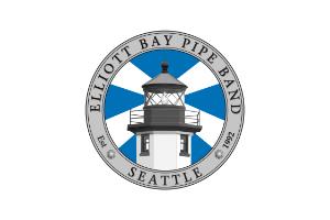 Elliott Bay Pipe Band logo