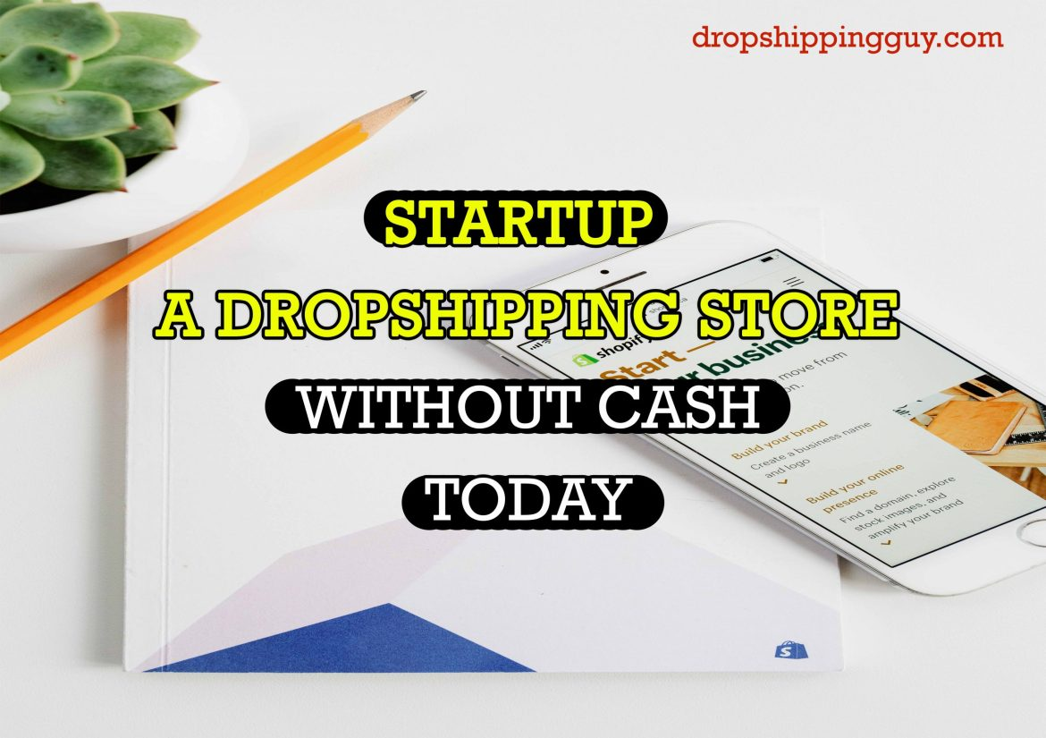 STARTUP DROPSHIPPING WITHOUT CASH | No.1 Dropshipping Myth Buster!